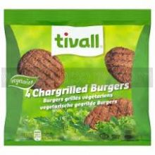 Tivall Vegetarian Chargrilled Burgers