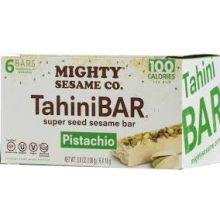 Mighty Sesame 6 Pistachio Tahini Bars