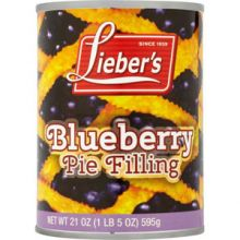 Liebers Blueberry Pie Filling