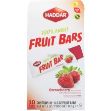 Haddar Strawberry Fruit Bars
