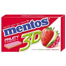 Mentos Strawberry, Apple & Raspberry Gum