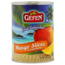 Gefen Tinned Mango Slices