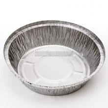 "5 x 7"" Round Foil Containers (NO LIDS)"