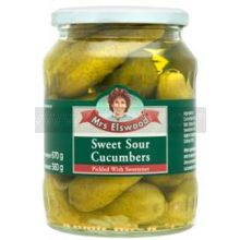 Mrs Elswood Sweet & Sour Cucumbers