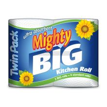 2 Mighty Big 2 Ply Kitchen Rolls