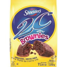 Shneiders 2C Chocolate Chip Mini Brownie