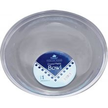 "Round Clear Large 12"" Bowel"