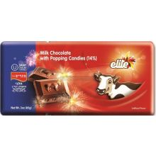Elite Popping Candy Chocolate Bar