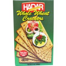Hader Whole Wheat Oat Crackers