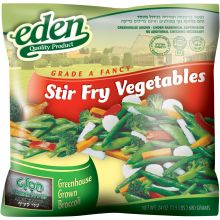 Eden's Stir Fry Vegetables