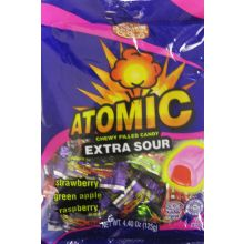 Atomic Extra Sour Chewy Cream Toffees