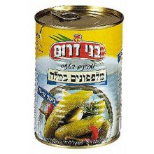 Bnei Darom Medium Cucumbers in Brine (10 -12 Pickles)