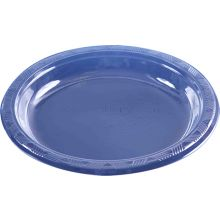 "40 Large 9"" Clear Plastic Plates"
