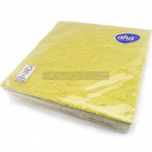 20 3ply Gold Embossed Napkins