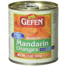 Gefens Whole Segment Mandarins