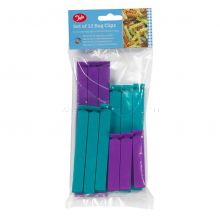 12 Mixed Size Bag Clips