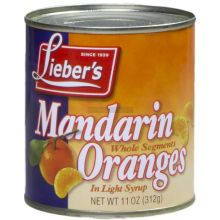 Liebers Whole Segment Mandarins