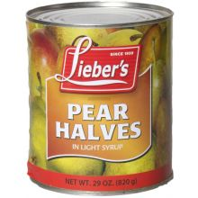 Liebers Pear Halves