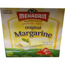 Mehadrin Margarine Sticks