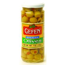 Gefen's Stuffed Spanish Olives (Small Jar)