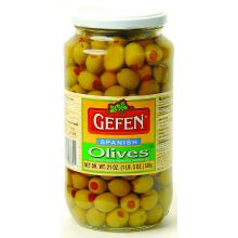 Gefens Stuffed Spanish Olives (Large Jar)