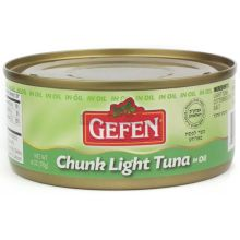 Gefen Chunk Tuna in Oil