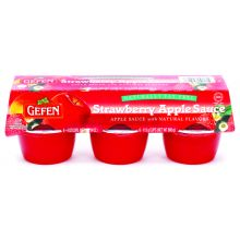 Gefen's 6 Pack Strawberry & Apple Sauce