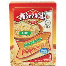 Mishpacha Lightly Salted Lite Microwave Popcorn