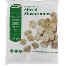 Ardo's Large Sliced Mushrooms