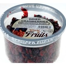 World of Nuts Reduced Sugar Cranberries