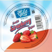 Charedi Dairies Low Fat Strawberry Yoghurt