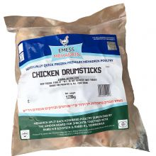 IQF Emess Mehadrin Chicken Drumsticks - Avg 1.3 Kg £8.70/Kg
