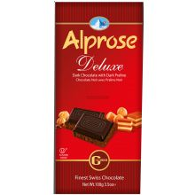 Alprose Dark Chocolate with Dark Praline