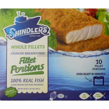 Shindler Breaded Fish Portions
