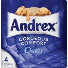 Andrex Quilts Toilet Paper