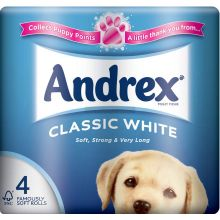 Andrex Classic Toilet Paper