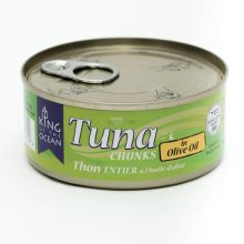 King of Ocean Tuna Chunks in Olive Oil