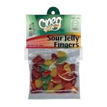 Oneg Sour Jelly Fingers