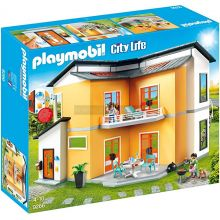 Playmobile Modern House with Working Doorbell (9266)