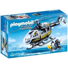 Playmobile SWAT Helicopter with Working Winch (9363)
