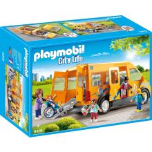 Playmobile School Van with Folding Ramp (9419)