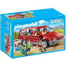 Playmobile Family Car with Trailer Hitch (9421)