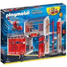 Playmobile Fire Station with Fire Alarm (9462)