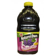 Natures Own Grape Juice