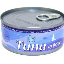 King of the Ocean  Tuna Chunks in water