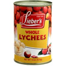 Liebers Tinned Lychees
