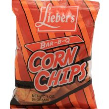 Liebers Small BBQ Corn Chips