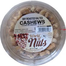 World of Nuts Dry Roasted Salted Cashews