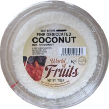 World of Nuts Desiccated Coconut