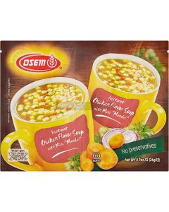 Osem Chicken & Mandel 2 Packet Soup